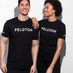 Peloton Century Club 100 Workout Black T-Shirt